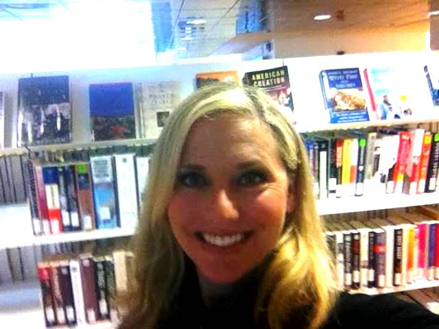 Kara stopped by a few months ago to take an HPseLfie for Library Week!