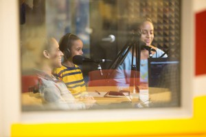 Children enjoyed telling their stories of kindness too. Photo by Visual Appeal Studio.