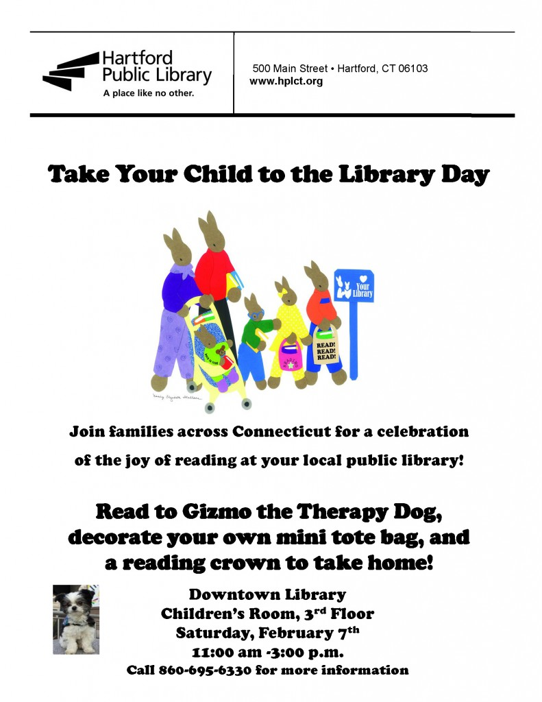 TakeYourChildToTheLibraryDay 2015