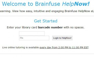 brainfuse start page