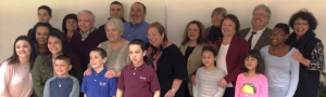Gerri Sullivan and her family